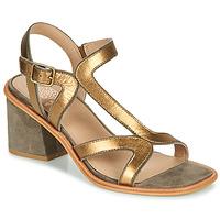Zapatos Mujer Sandalias Karston PSOK Kaki / Bronce