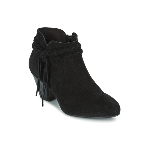 Zapatos Mujer Botines Betty London CROUTILLE Negro