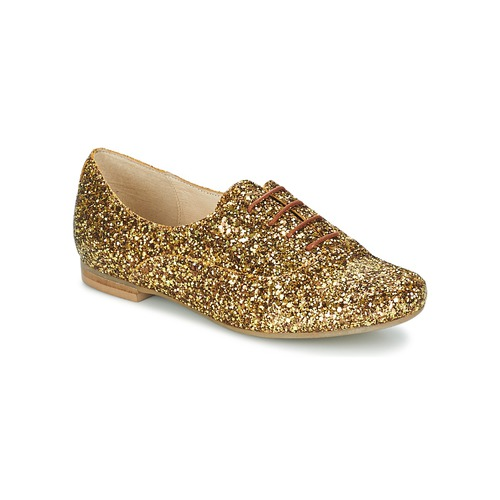 Zapatos Mujer Richelieu Betty London CLAPCLAP Dorado
