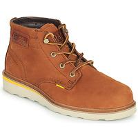 Zapatos Hombre Botas de caña baja Caterpillar JACKSON MID Marrón