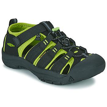 Zapatos Niño Sandalias de deporte Keen NEWPORT H2 Negro / Verde