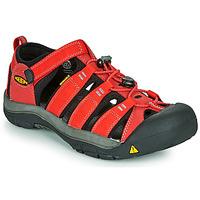 Zapatos Niños Sandalias de deporte Keen NEWPORT H2 Rojo