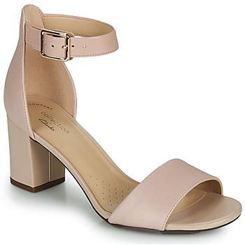 Zapatos Mujer Zapatos de tacón Clarks DEVA MAE Rosa
