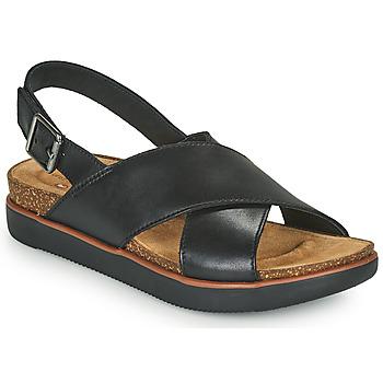 Zapatos Mujer Sandalias Clarks ELAYNE CROSS Negro