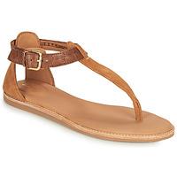 Zapatos Mujer Sandalias Clarks KARSEA POST Marrón / Camel