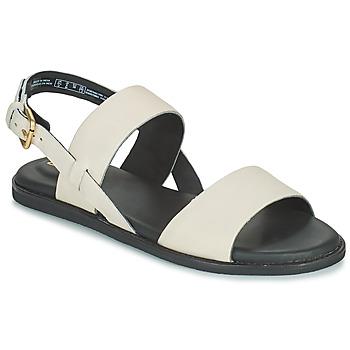 Zapatos Mujer Sandalias Clarks KARSEA STRAP Blanco