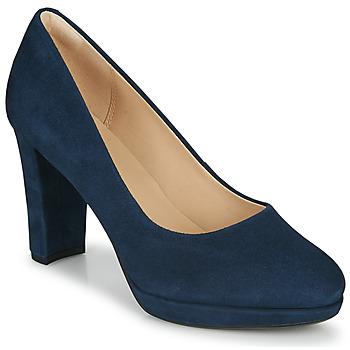 Zapatos Mujer Zapatos de tacón Clarks KENDRA SIENNA Azul