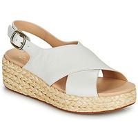 Zapatos Mujer Sandalias Clarks KIMMEI CROSS Blanco