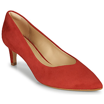 Zapatos Mujer Zapatos de tacón Clarks LAINA55 COURT2 Rojo