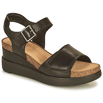 Zapatos Mujer Sandalias Clarks LIZBY STRAP Negro