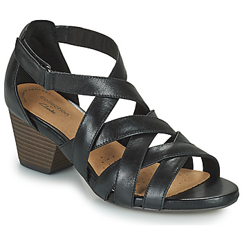 Zapatos Mujer Sandalias Clarks LORENE POP Negro