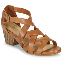 Zapatos Mujer Sandalias Clarks LORENE POP Camel