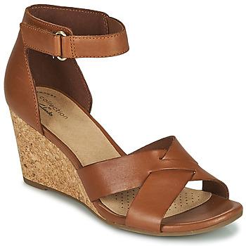 Zapatos Mujer Sandalias Clarks MARGEE GRACIE Marrón