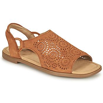 Zapatos Mujer Sandalias Clarks REYNA SWIRL Camel