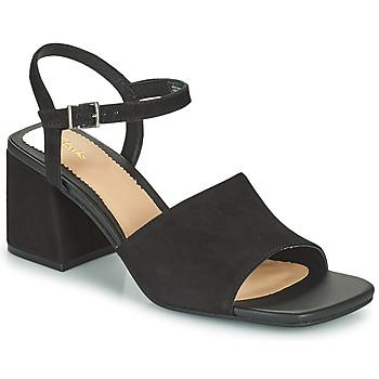 Zapatos Mujer Sandalias Clarks SHEER65 BLOCK Negro