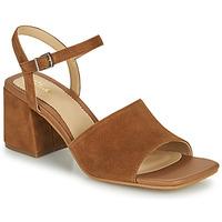 Zapatos Mujer Sandalias Clarks SHEER65 BLOCK Camel
