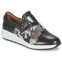 Zapatos Mujer Zapatillas bajas Clarks UN RIO STRAP Negro