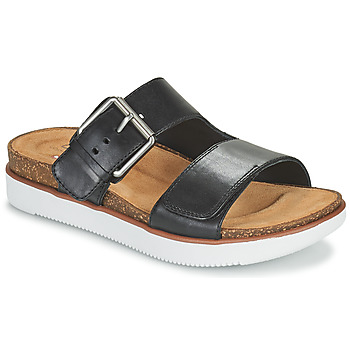 Zapatos Mujer Zuecos (Mules) Clarks ELYANE EEASE Negro