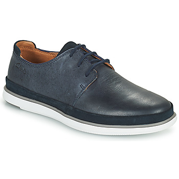Zapatos Hombre Derbie Clarks BRATTON LACE Azul