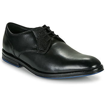 Zapatos Hombre Derbie Clarks CITISTRIDELACE Negro