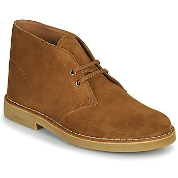 Zapatos Hombre Botas de caña baja Clarks DESERT BOOT 2 Marrón