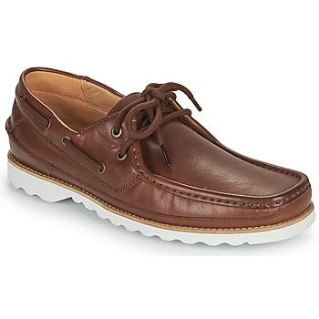 Zapatos Hombre Zapatos náuticos Clarks DURLEIGH SAIL Marrón