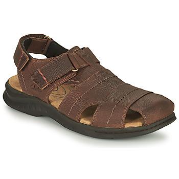 Zapatos Hombre Sandalias de deporte Clarks HAPSFORD COVE Marrón