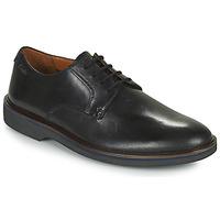 Zapatos Hombre Derbie Clarks MALWOOD PLAIN Negro
