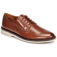 Zapatos Hombre Derbie Clarks MALWOOD PLAIN Marrón