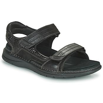Zapatos Hombre Sandalias de deporte Clarks NATURE TREK Negro