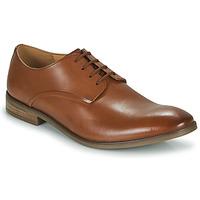 Zapatos Hombre Derbie Clarks STANFORD WALK Marrón