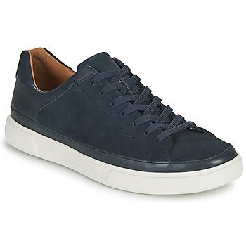 Zapatos Hombre Zapatillas bajas Clarks UN COSTA TIE Azul