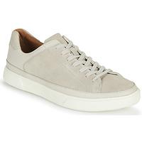 Zapatos Hombre Zapatillas bajas Clarks UN COSTA TIE Blanco