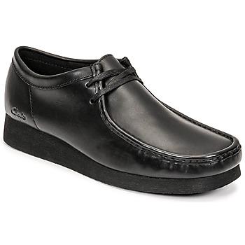 Zapatos Hombre Derbie Clarks WALLABEE 2 Negro