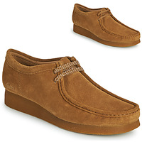Zapatos Hombre Derbie Clarks WALLABEE 2 Marrón