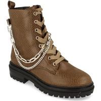 Zapatos Mujer Botas de caña baja Buonarotti 1CE-0491 Verde