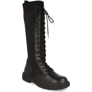 Zapatos Mujer Botas urbanas Woman Key Q629 Negro