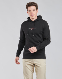 textil Hombre Sudaderas Tommy Hilfiger ESSENTIAL TOMMY HOODY Negro