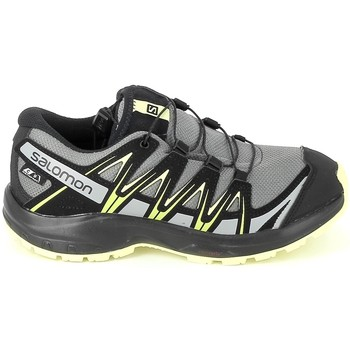 Zapatos Niño Senderismo Salomon XA Pro 3D CSWP K Gris Jaune Gris