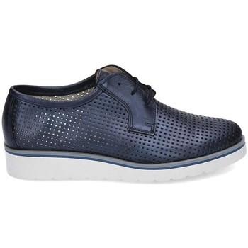 Zapatos Mujer Derbie & Richelieu Kennebec 6065 P.CUADRADITOS Azul