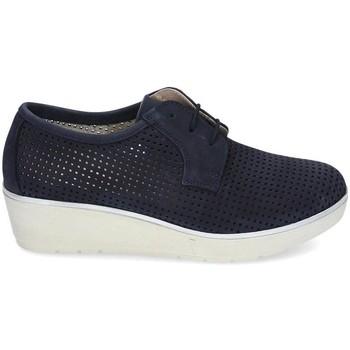 Zapatos Mujer Derbie & Richelieu Kennebec 7001 P. CUADRADITO Azul