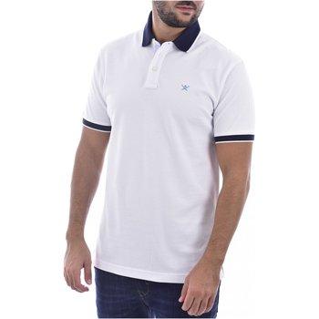 textil Hombre Polos manga corta Hackett Polo HM562698 - Hombres blanco