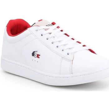 Zapatos Hombre Zapatillas bajas Lacoste Carnaby Evo Blanco