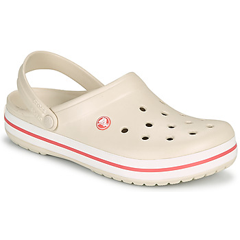 Zapatos Mujer Zuecos (Clogs) Crocs CROCBAND Beige / Coral