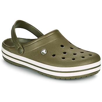 Zapatos Zuecos (Clogs) Crocs CROCBAND Kaki