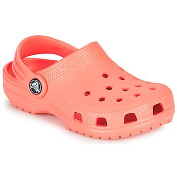 Zapatos Niños Zuecos (Clogs) Crocs CLASSIC CLOG K Naranja