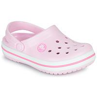 Zapatos Niña Zuecos (Clogs) Crocs CROCBAND CLOG K Rosa