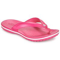 Zapatos Niños Chanclas Crocs CROCBAND FLIP GS Rosa