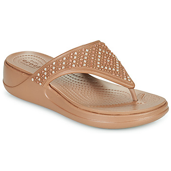 Zapatos Mujer Chanclas Crocs CROCS MONTEREY SHIMMER WGFPW Bronce