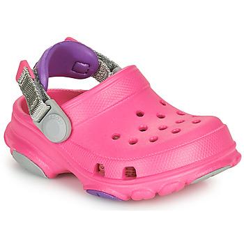 Zapatos Niña Zuecos (Clogs) Crocs CLASSIC ALL-TERRAIN CLOG K Rosa